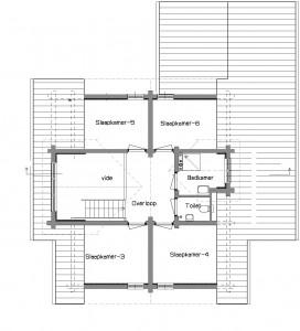 20150706 indeling verdieping